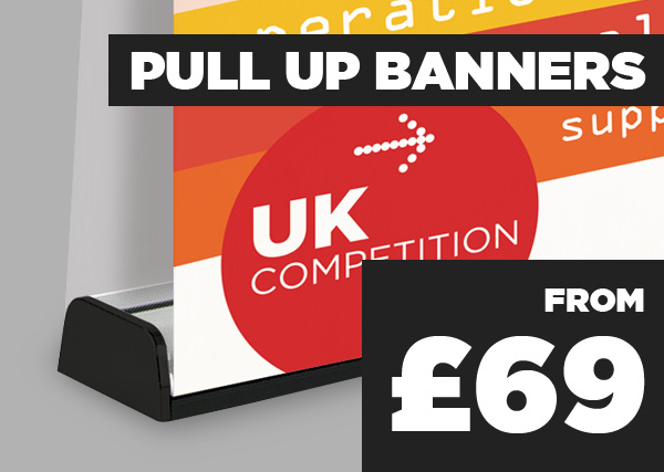 Pull Up Banners - from £69