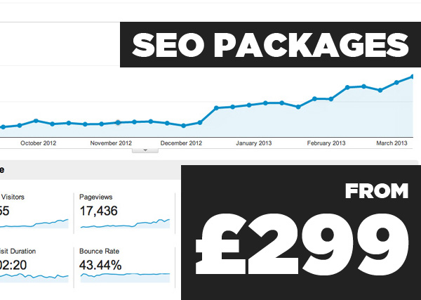 Seo Packages - from £299